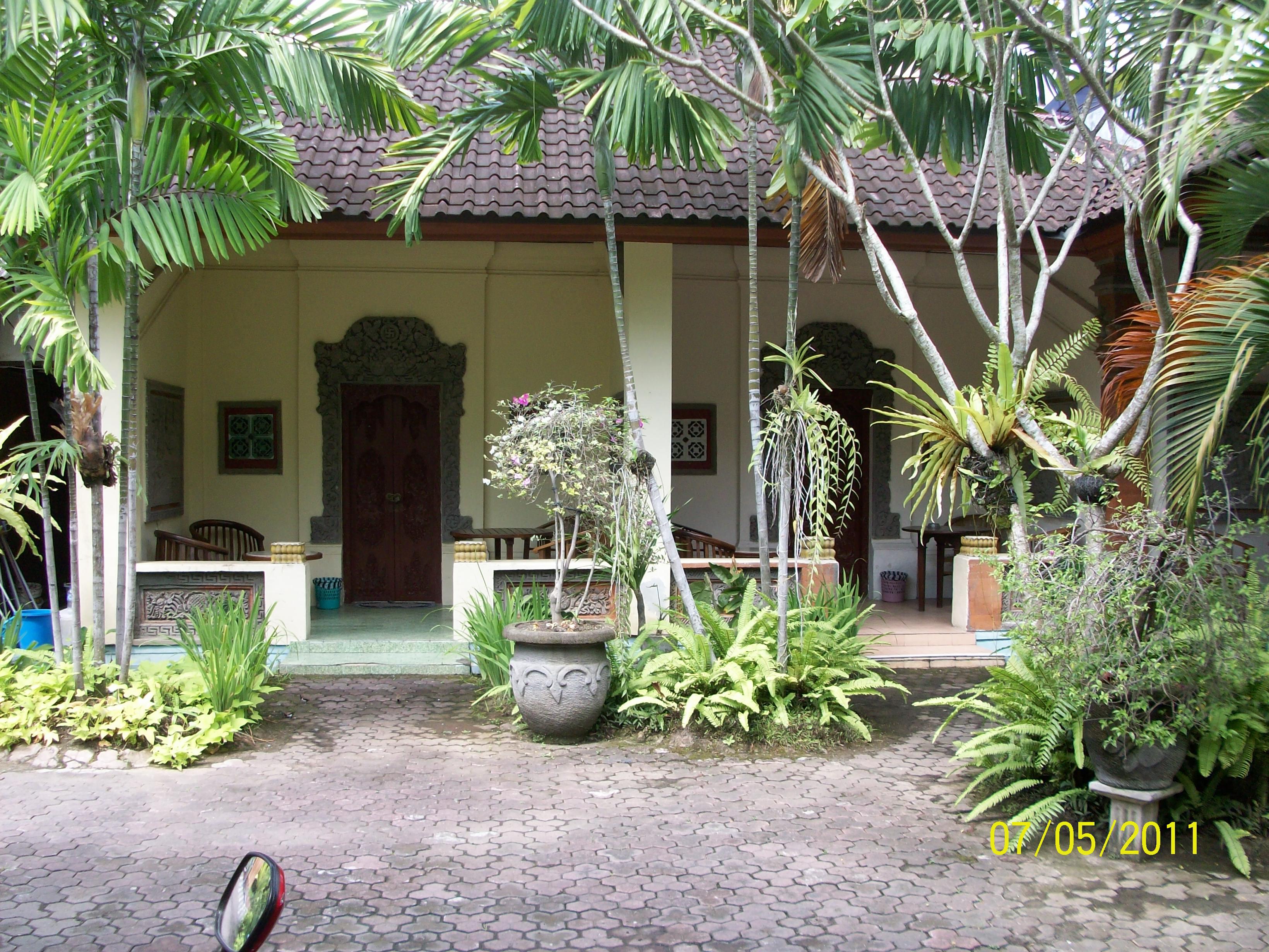 Hotel Melati Di Kawasan Pusat Kota Denpasar Lokasi